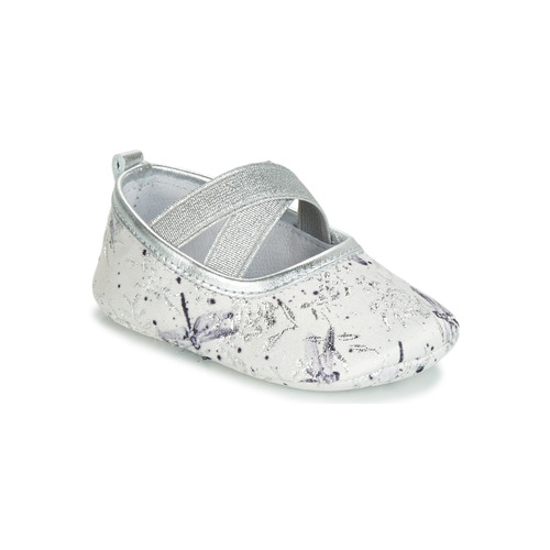 Shoes Girl Slippers Citrouille et Compagnie JERIFOU Grey / Dragonfly