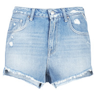 Clothing Women Shorts / Bermudas Replay PABLE Blue / 010