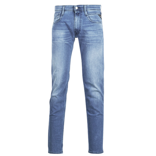 Clothing Men slim jeans Replay ANBASS Blue / Medium / 010