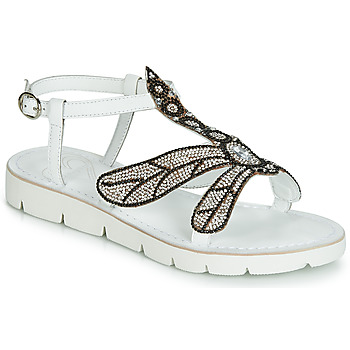 Shoes Women Sandals Café Noir GB226 White