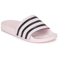 Shoes Women Tap-dancing adidas Originals ADILETTE W Pink