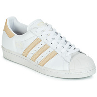 Shoes Low top trainers adidas Originals SUPERSTAR 80s White / Beige