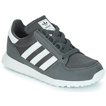 Shoes Children Low top trainers adidas Originals OREGON Grey