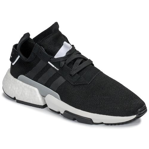 Shoes Men Low top trainers adidas Originals P.O.D Black