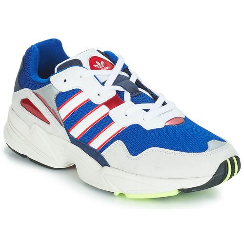Shoes Men Low top trainers adidas Originals YUNG 96 White / Purple