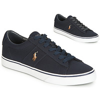 Shoes Men Low top trainers Polo Ralph Lauren SAYER Marine