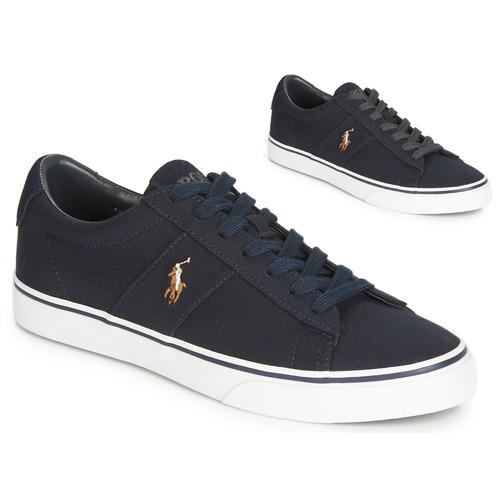 Shoes Men Low top trainers Polo Ralph Lauren SAYER Marine