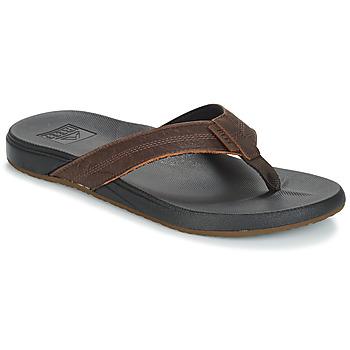Shoes Men Flip flops Reef CUSHION BOUNCE PHANTOM LE Brown