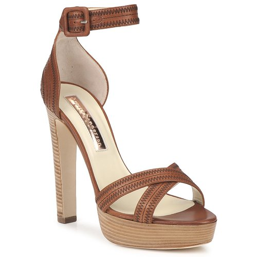 Shoes Women Sandals Rupert Sanderson KOOMELA Brown