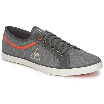 Shoes Men Low top trainers Le Coq Sportif HONFLEUR HBONE Coal / Dark red