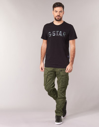 Clothing Men Cargo trousers G-Star Raw ROVIC ZIP 3D STRAIGHT TAPERED Kaki