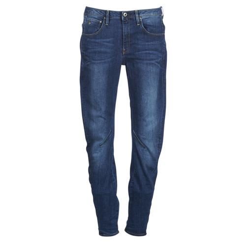 Clothing Women Boyfriend jeans G-Star Raw ARC 3D LOW BOYFRIEND Blue / Medium / Aged