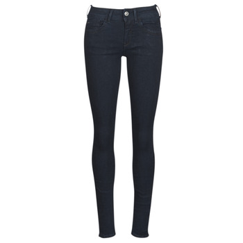 Clothing Women Skinny jeans G-Star Raw LYNN D-MID SUPER SKINNY Blue / Rinsed