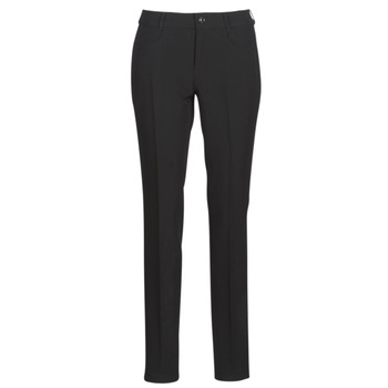 Clothing Women Chinos G-Star Raw D-STAQ MID SKINNY ANKLE CHINO Black