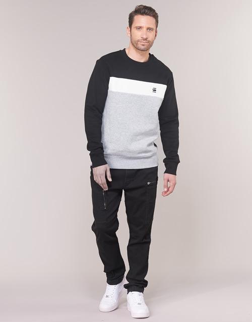 Clothing Men 5-pocket trousers G-Star Raw POWEL SLIM TRAINER Marine