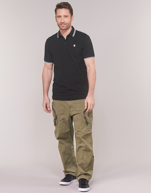 Clothing Men Cargo trousers G-Star Raw ROVIC 3D AIRFORCE RELAXED Beige
