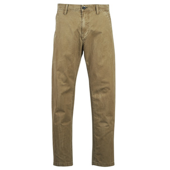 Clothing Men chinos G-Star Raw BRONSON STRAIGHT TAPERED CHINO Beige