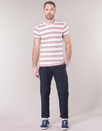 Clothing Men chinos G-Star Raw BRONSON STRAIGHT TAPERED CHINO Marine