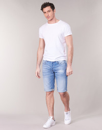 Clothing Men Shorts / Bermudas G-Star Raw 3302 12 Blue / Light / Aged