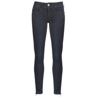 Clothing Women Skinny jeans G-Star Raw LYNN ZIP MID SKINNY ANKLE Blue / Dark / Aged / Cobler