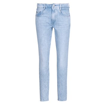 Clothing Women Straight jeans G-Star Raw RADAR MID BOYFRIEND TAPERED Blue / Light / Aged