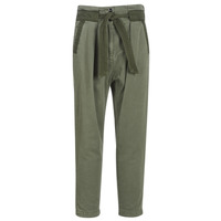 Clothing Women Chinos G-Star Raw BRONSON ARMY PAPERBAG Kaki