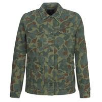 Clothing Women Jackets G-Star Raw ROVIC AO FIELD OVERSHIRT Green