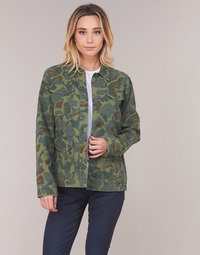 Clothing Women Jackets G-Star Raw ROVIC AO FIELD OVERSHIRT Green
