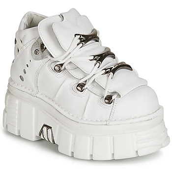 Shoes Women Mid boots New Rock ROCKY White
