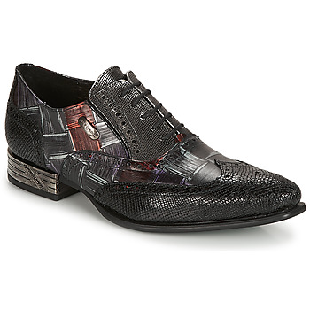 Shoes Men Derby Shoes New Rock SALSO Black