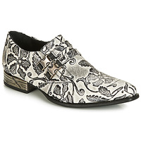 Shoes Men Brogues New Rock SALSO Black / White