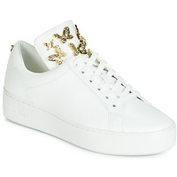 Shoes Women Low top trainers MICHAEL Michael Kors MINDY White / Gold