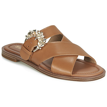 Shoes Women Mules MICHAEL Michael Kors FRIEDA SLIDE Brown