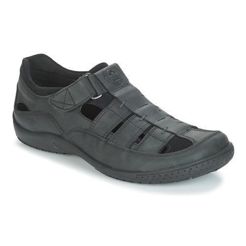 Shoes Men Sandals Panama Jack MERIDIAN Black