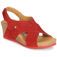Shoes Women Sandals Panama Jack VALESKA Red