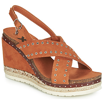 Shoes Women Sandals Xti 48922 Cognac