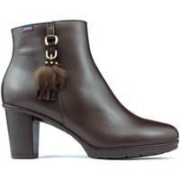 Shoes Women Ankle boots CallagHan SIERRA ANTIC DANA Booties BROWN