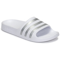 Shoes Girl Tap-dancing adidas Originals ADILETTE AQUA K White