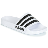 Shoes Tap-dancing adidas Originals ADILETTE SHOWER White / Black