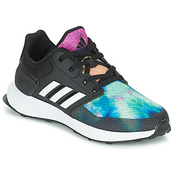 Shoes Girl Running shoes adidas Originals RAPIDARUN X K Black
