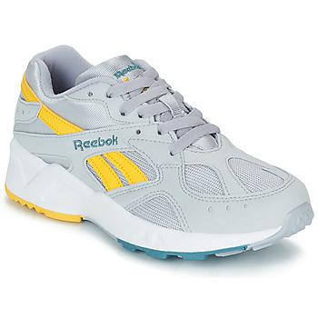 Shoes Men Low top trainers Reebok Classic AZTREK Grey / Yellow