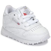 Shoes Children Low top trainers Reebok Classic CLASSIC LEATHER White