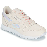 Shoes Girl Low top trainers Reebok Classic CLASSIC LEATHER Pink