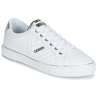 Shoes Women Low top trainers Guess GROOVIE White