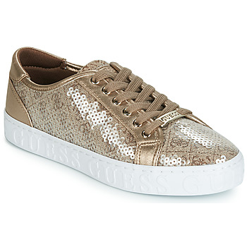 Shoes Women Low top trainers Guess GRASER Beige