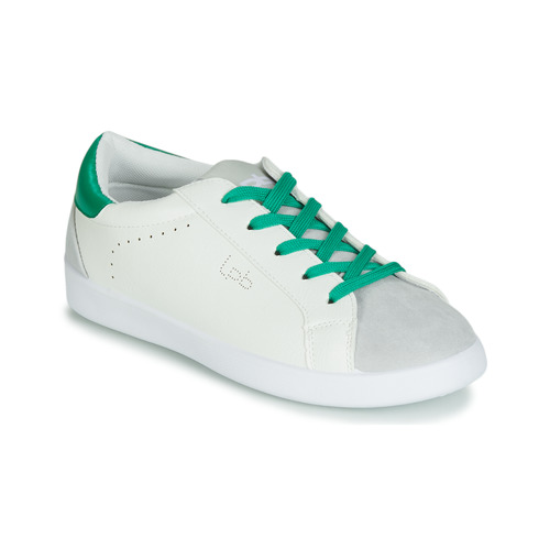 Shoes Women Low top trainers Les Petites Bombes ABIGAELE White