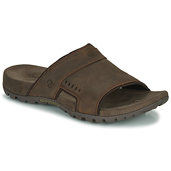 Shoes Men Mules Merrell SANDSPUR LEE SLIDE Brown