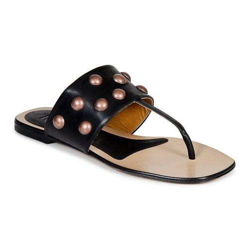 Shoes Women Flip flops Keyté DELLIA Black