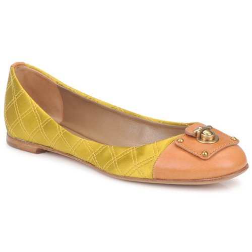 Shoes Women Flat shoes Marc Jacobs MJ18091 Yellow