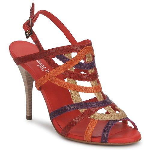 Shoes Women Sandals Stéphane Kelian OPERA Bronze multicolour